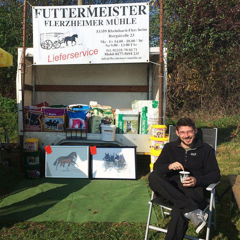 Stefan Schmitt, Futtermeister-Lieferservice